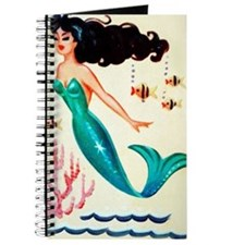 Vintage Mermaid Under the Sea Journal
