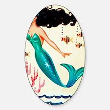 Vintage Mermaid Under the Sea Decal