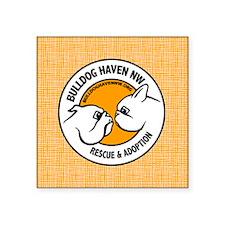 "BHNW LOGO O-grain - Square Sticker 3"" x 3"""
