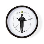 Not An Apple Wall Clock