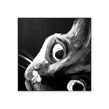 "Cat Square Sticker 3"" x 3"""