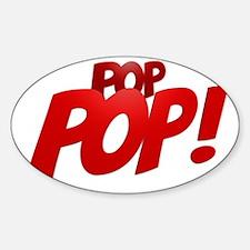PopPop! Sticker (Oval)