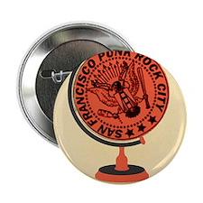 "Punk Globe 2.25"" Button"