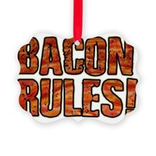 BACON RULES! T shirt Ornament