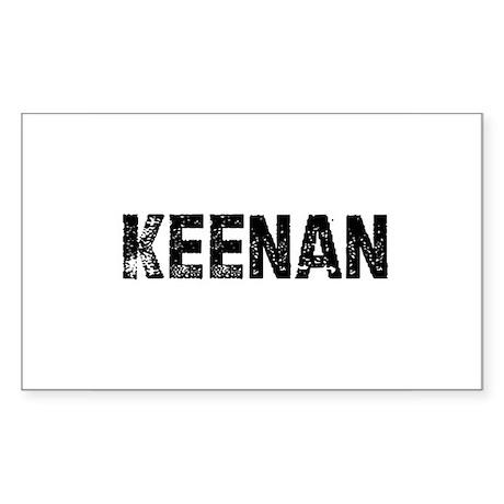 Keenan Rectangle Sticker