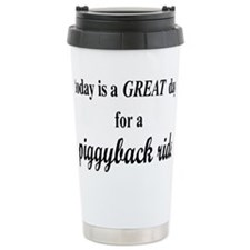 piggybackrectangle Stainless Steel Travel Mug