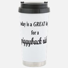 piggybackrectangle Stainless Steel Travel Mug