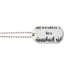 piggybackrectangle Dog Tags