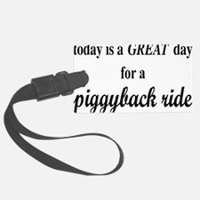 piggybackrectangle Luggage Tag