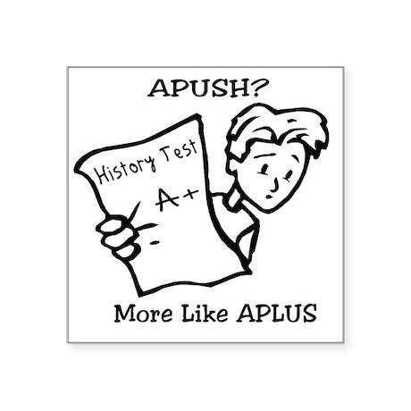 "APUSH Square Sticker 3"" x 3"""