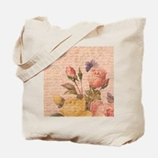 Botanical Roses Tote Bag