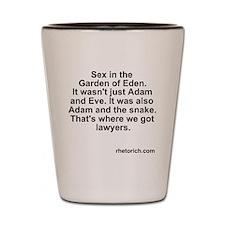 Adam Snake Shot Glass