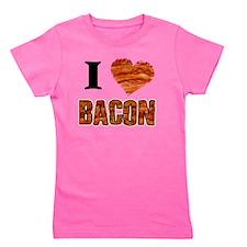I love Bacon! Girl's Tee