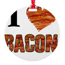 I love Bacon! Ornament