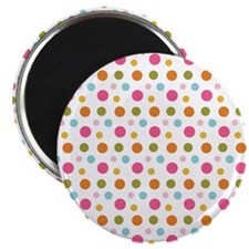 Whimsical Dots Magnet