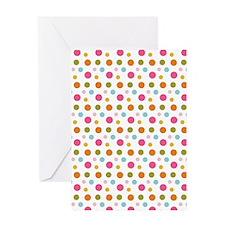 Whimsical Dots Greeting Card