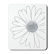 Daisy Flower Mousepad