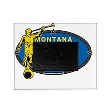 Montana Mission - Montana Flag - Ang Picture Frame