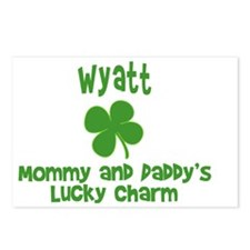 Wyatt Charm Postcards (Package of 8)