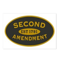 Second Amendment Sticker Postcards (Package of 8)