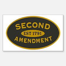 Second Amendment Sticker Decal
