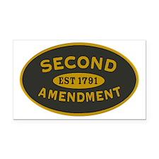 Second Amendment Sticker Rectangle Car Magnet