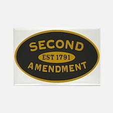 Second Amendment Sticker Rectangle Magnet