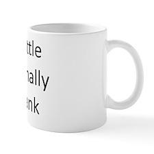 Intentionally Blank Bottle Mug