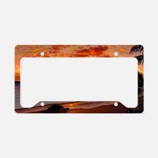 Morning Stretch License Plate Holder