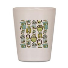 Give A Hoot Shot Glass