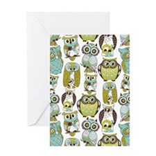 Give A Hoot Greeting Card
