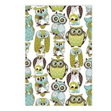 Give A Hoot Postcards (Package of 8)