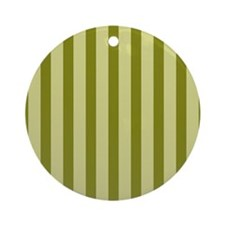 Olive Splendor Round Ornament