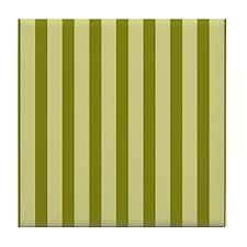Olive Splendor Tile Coaster
