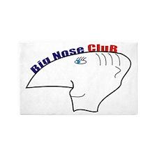 big nouse club 3'x5' Area Rug