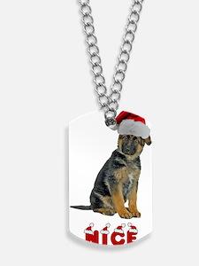 Nice German Shepher... Dog Tags