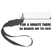 boredToDeath3D Luggage Tag
