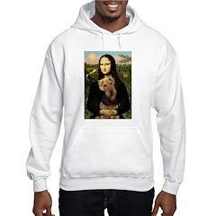 Mona Lisa - Airedale 1 Hoodie