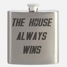 The House Always Wins Flask