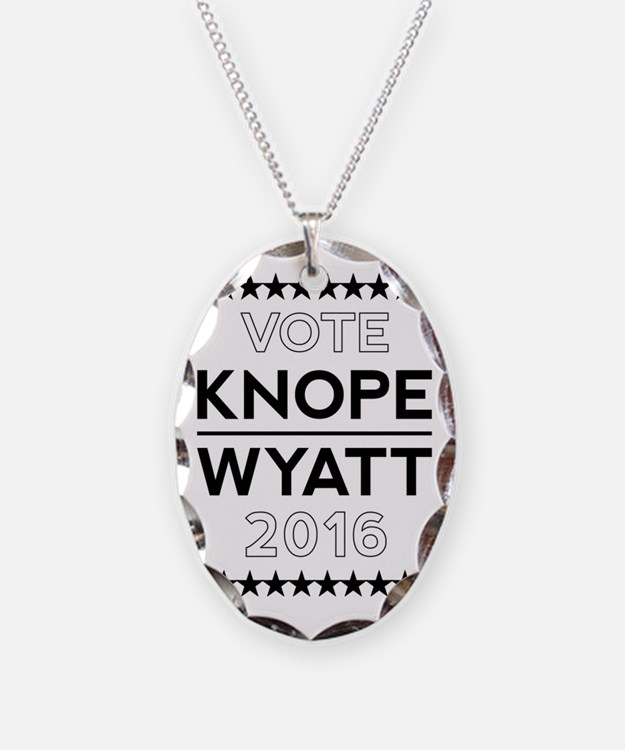 Knope/Wyatt 2016 Campaign Necklace