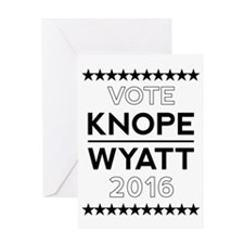 Knope/Wyatt 2016 Campaign Greeting Card