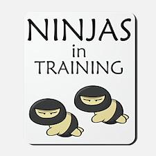 Ninjas in Training Mousepad