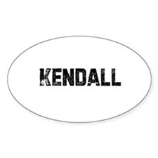 Kendall Oval Decal