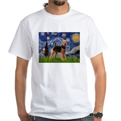 Starry Night - Airedale #6 Shirt