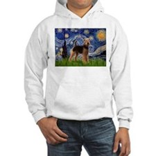 Starry Night - Airedale #6 Hoodie