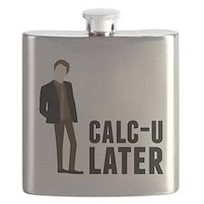 Calc-U-Later Flask