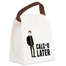 Calc-U-Later Canvas Lunch Bag
