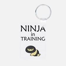 Ninja in Training Keychains