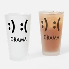 Drama-con Drinking Glass