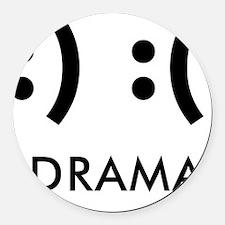Drama-con Round Car Magnet